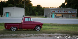 Georges 1956 Chevy Pickup with C4 Suspension and 5.3L