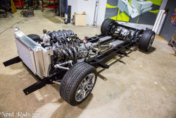 Greg's Stage 3+ Chassis Ready to go under his 55 Sedan